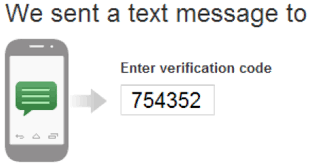 SMS Verification Code Received